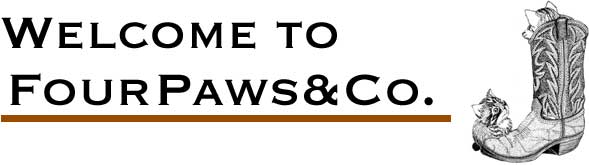Welcome to Four Paws and Co. pet store, pet food